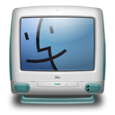 blue, imac, bondi icon