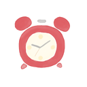 clock, ak icon