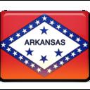 arkansas,flag icon