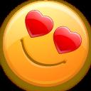 smiley, valentine's day, love icon