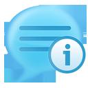 info, blog icon