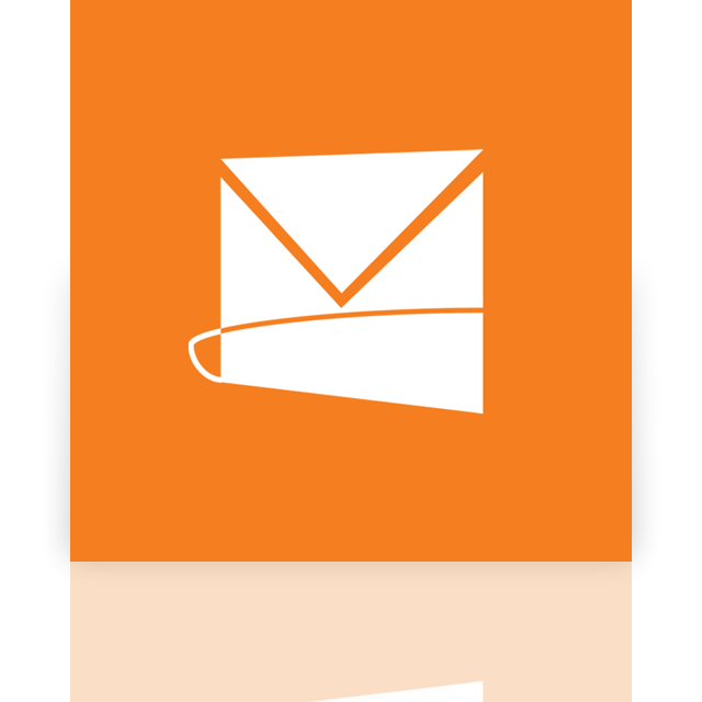 mirror, hotmail, live icon