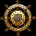 , Nautilus, Ship, Steering, Wheel icon