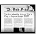 news, knode, newspaper, headline icon