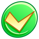 button,ok,right icon