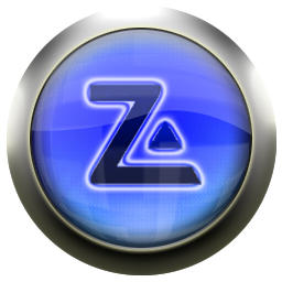 zone, alarm, blue icon