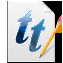 Font, Tt icon