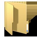 folderopened, folder, yellow icon