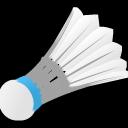Sport shuttercock icon