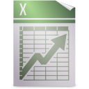 mime, gnome, opendocument spreadsheet icon