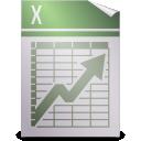 spreadsheet, gnome, mime, applix icon