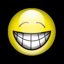 emot, happy, smile, emotion, big icon