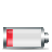 horizontal, 20percent, battery icon