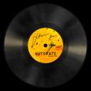 vinyl,orange icon