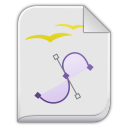 app vnd oasis opendocument graphics icon