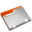 Tangerine Folder icon