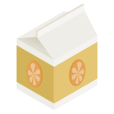 pack, orange, juice icon