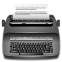 typewrite, editor, publish icon