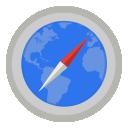 safari, map icon