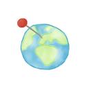 ak, location icon