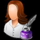 writer, female icon