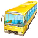 transport, bus, automobile, vehicle, car, transportation icon