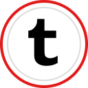 media, brand, tumblr, social, logo icon