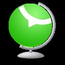 Globe, Technorati icon