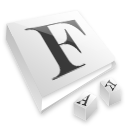 font, read, reading, book icon