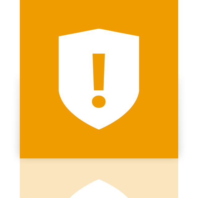 mirror, software, antivirus icon