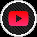youtube, online, social, media icon