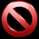 no, cancel, stop icon