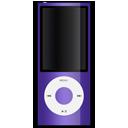 purple, apple, ipod icon
