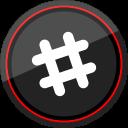 logo, slack, social, media icon