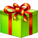 xmas, giftbox icon