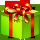 xmas, giftbox icon