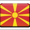 macedonia,flag,country icon