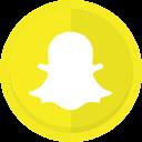 messaging app, conversation, snapchat, snapchat logo icon