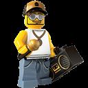 Lego, Rapper icon