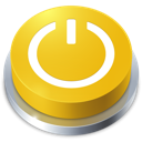 button, standby, perspective icon