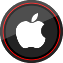 social, logo, media, apple icon