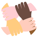 teamwork, team, group, friends, social, advantage icon