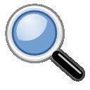 original, zoom, magnifier, search icon