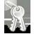 gnome, dialog, 48, password icon