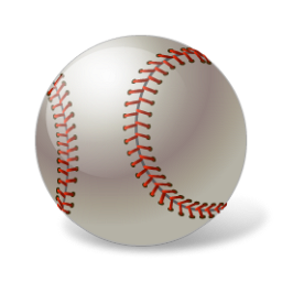 sport, baseball, ball icon