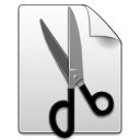Cut, Edit icon