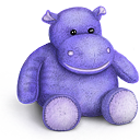 teddy, bear, rhino, toy icon