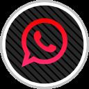 social, online, whatsapp, media icon