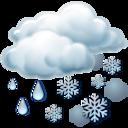 sleet,weather icon