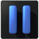 pause, player icon